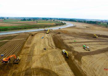 Trierveld luchtfoto grondverzet