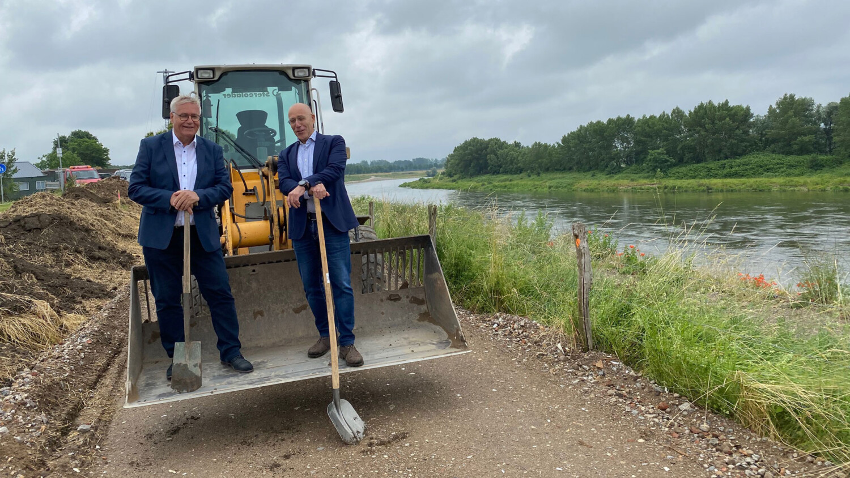 Pieter Meekels en Kees van der Veeken